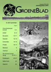GroeneBlad juli/aug 2016