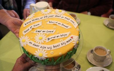 Hilda van Schalkwijk 25 jaar pastor