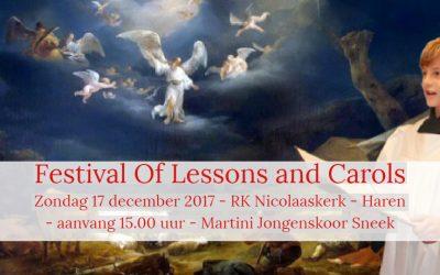 Concert Martini Jongenskoor uit Sneek in de Nicolaaskerk