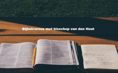 Bijbelcursus met bisschop van den Hout
