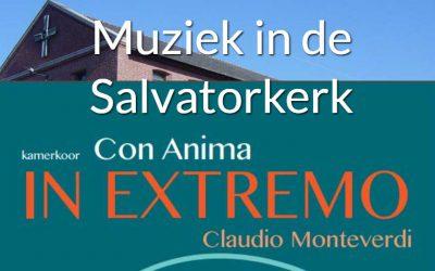 Con Anima zingt Monteverdi in de San Salvatorkerk