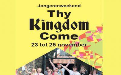 Jongerenweekend 'Thy Kingdom come' in Appelscha