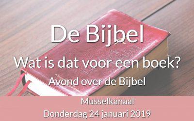 Avond over de Bijbel