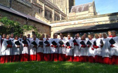 Feestelijke Choral Evensong met vier koren, 16 juni