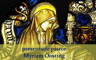 Presentatie pastor Myriam Oosting