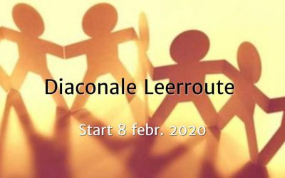 Diaconale Leerroute start op 8 februari 2020