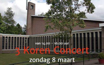 3 Koren Concert Nicolaaskerk