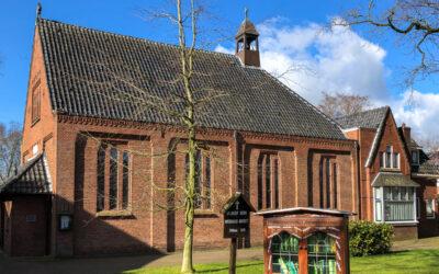 Vieringen in de Sint-Jozefkerk met coronamaatregelen